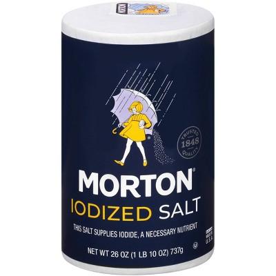 Morton Iodized Salt - 26oz