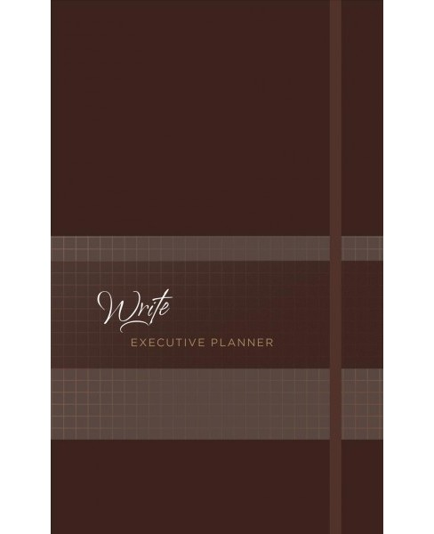 Write 2019 Executive Planner Nutmeg -  (Paperback) - image 1 of 1
