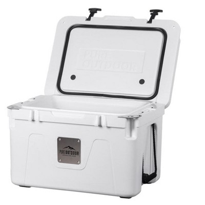 Monoprice Emperor Cooler - 80 Liters - White   Securely Sealed, Ideal for The Hottest and Coldest Conditions - Pure Outdoor Collection