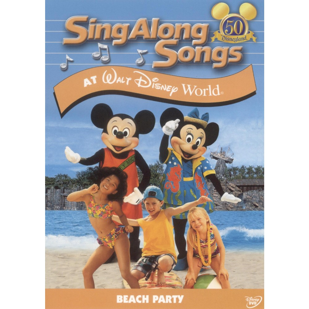 disney sing along songsbeach party at walt dvd