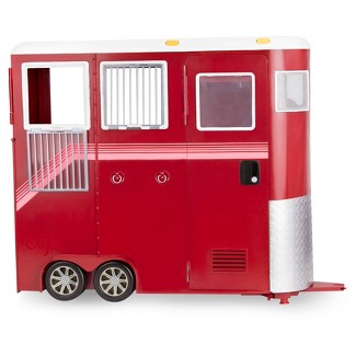 """Our Generation Mane Attraction Horse Trailer for 18"""" Dolls"""