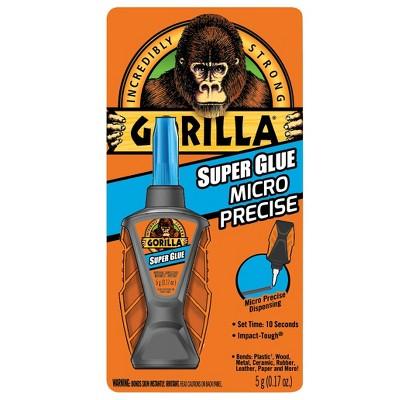 Gorilla 0.17fl oz Micro Precise Super Glue Clear