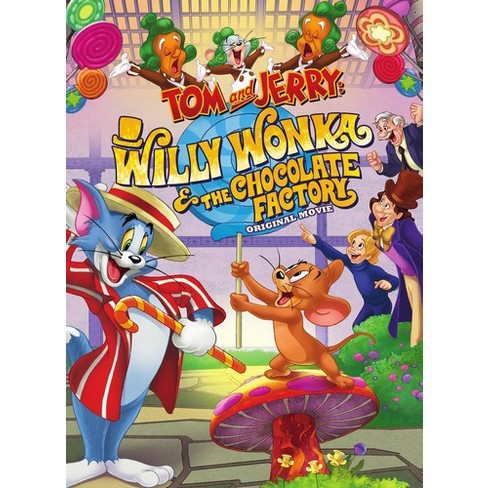 Tom & Jerry:Willy Wonka Charlie And T (DVD)