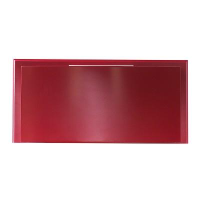 Genial Phone Booth Bar Cabinet Wine Storage Deep Red   Aiden Lane