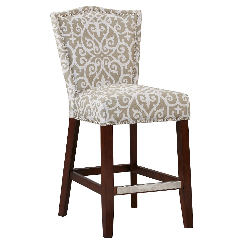 Gally Counter Stool - Taupe Brown (24.5)