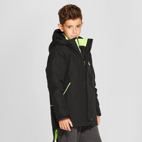 a1d931688 Boys  Parka Jacket - C9 Champion® Black   Target