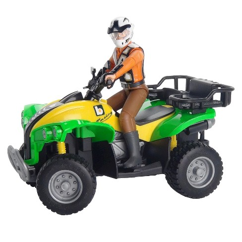 Bruder Quad 4 Wheeler with Driver - image 1 of 1