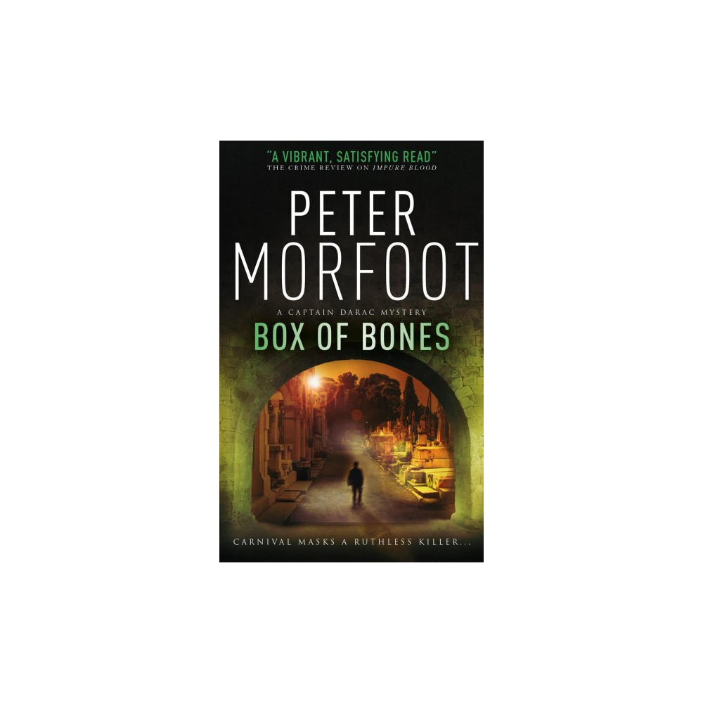 Box of Bones - (A Captain Darac Mystery) by Peter Morfoot (Paperback)