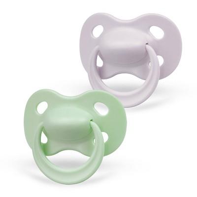 Medela Baby Original Pacifier - Green/Gray 6-18 Months 2pk