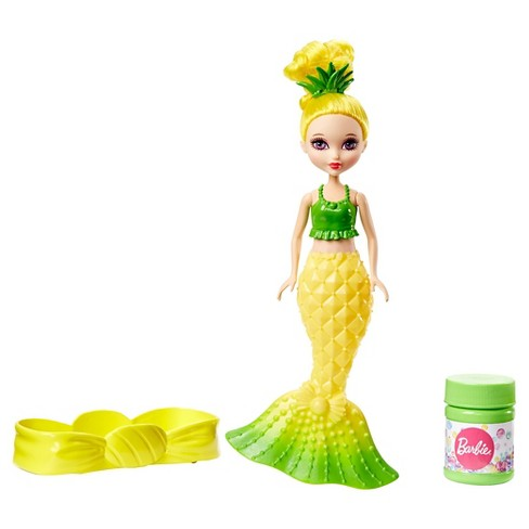 Barbie Dreamtopia Bubbles 'n Fun Mermaid Doll - Yellow - image 1 of 7