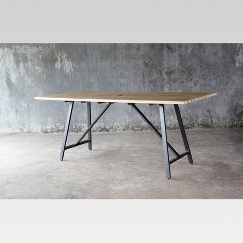 24 More Play Project 62 Cadima Eucalyptus Wood Patio Dining Table