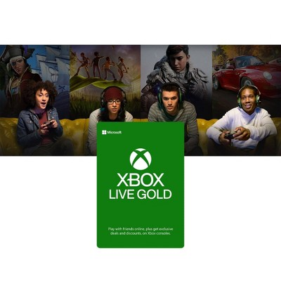 Xbox Live 12 Month Gold Membership (Digital)