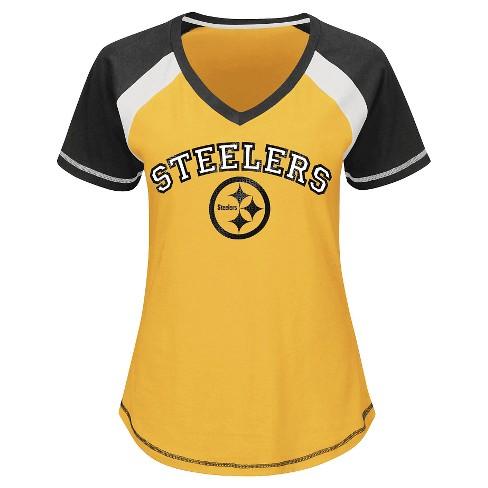 Pittsburgh Steelers Women s 2nd Raglan T-Shirt. Shop all NFL 64d19ec82