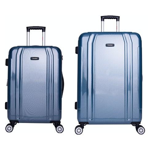 fd5acfe22 InUSA SouthWorld 2pc Hardside Spinner Luggage Set 23