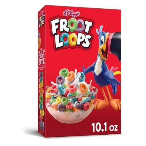 Froot Loops Breakfast Cereal - 10.1oz - Kellogg's - image 1 of 4