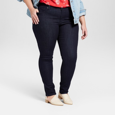 54d00661bebba Women s Plus Size Skinny Jeans - Universal Thread™ Dark Wash   Target