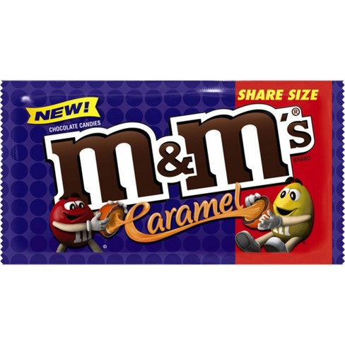 M M s Caramel Share Size Chocolate Candies - 2.83oz   Target da5f7958e11ca