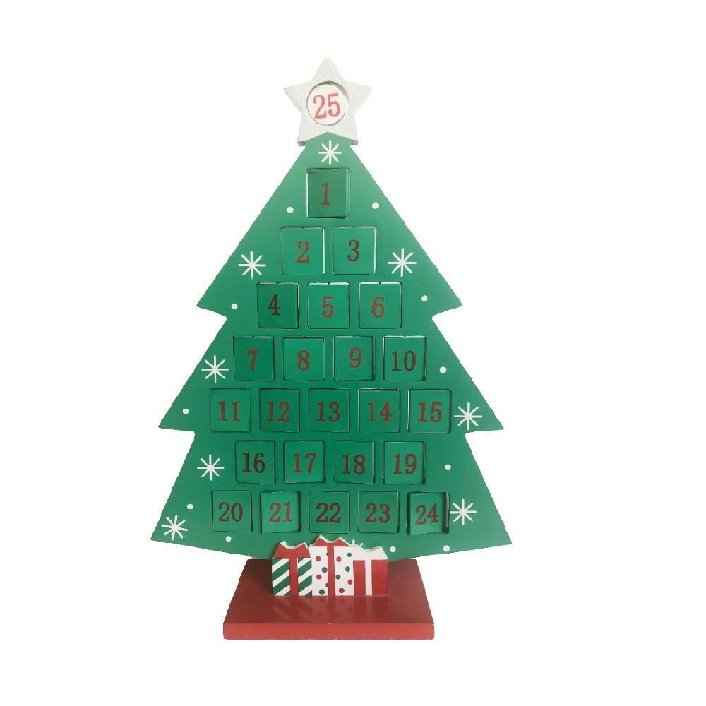 Advent Tree Calendar with Swivel Days - Wondershop
