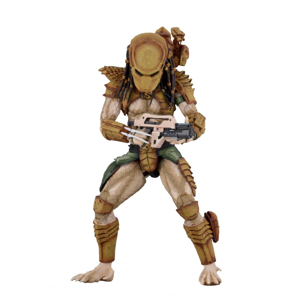 "Image of ""Alien vs. Predator Arcade Hunter Predator 7"""" Action Figure"""