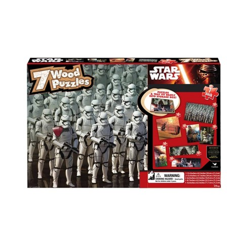 Cardinal Star Wars 7pk Wood Puzzle - 108pc - image 1 of 1
