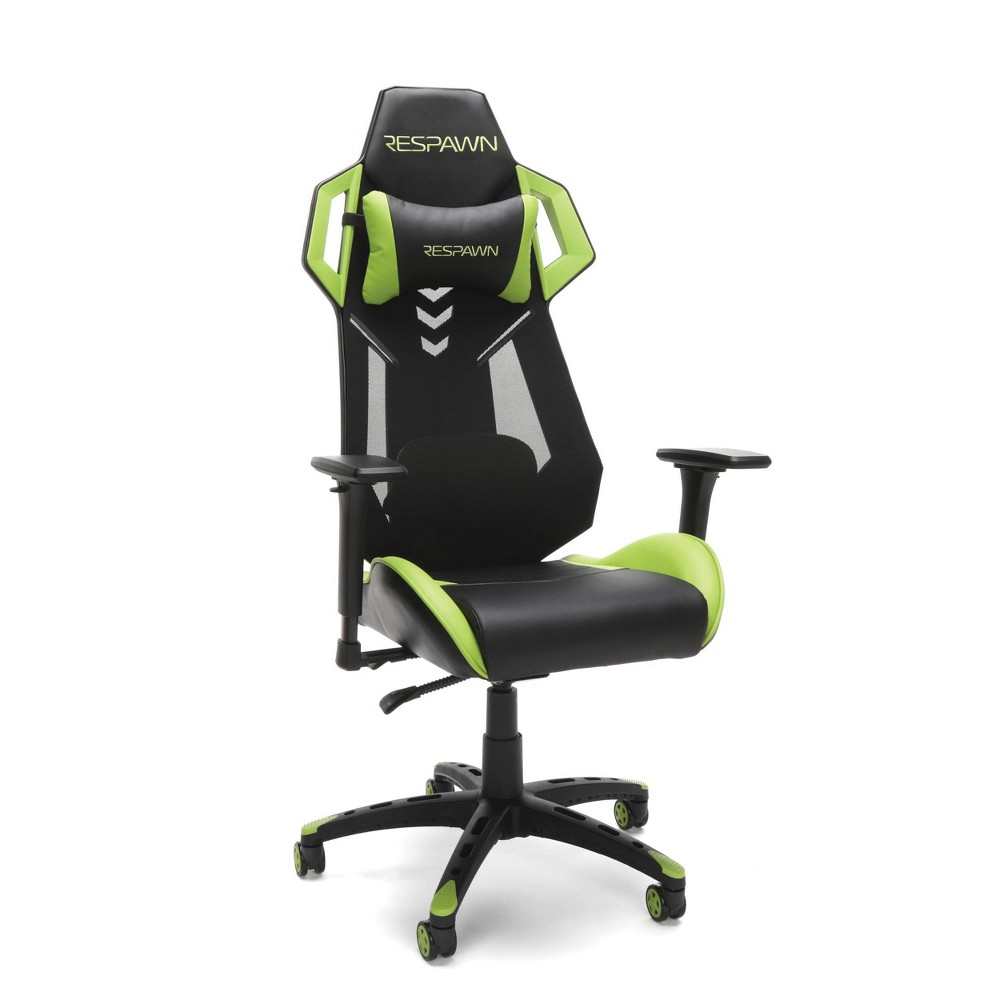 Image of 200 Racing Style Gaming Chair Green - RESPAWN