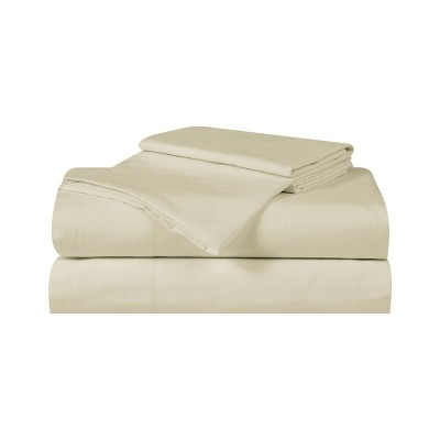 Queen Silver Cool Solid Sheet Set Khaki - Truly Calm