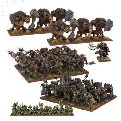 Orc Army (2017 Edition) Miniatures Box Set