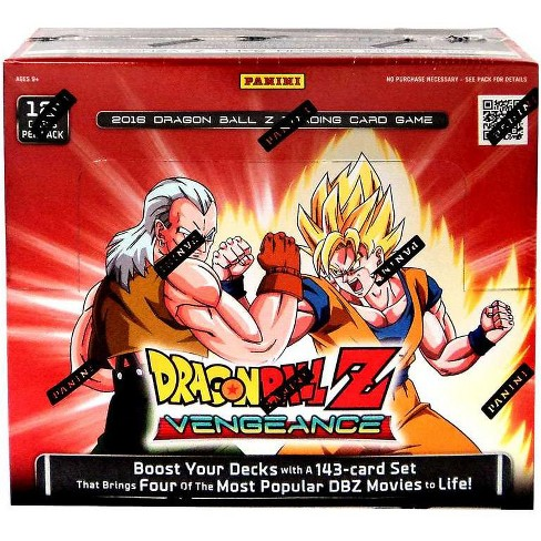 24 Card Complete Personality Set Movie Collection Dragon Ball Z Panini