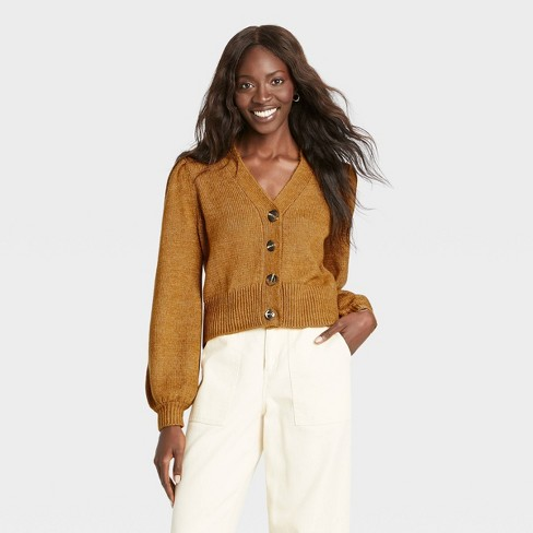 Women's Shruken Cardigan - Who What Wear™  - image 1 of 3