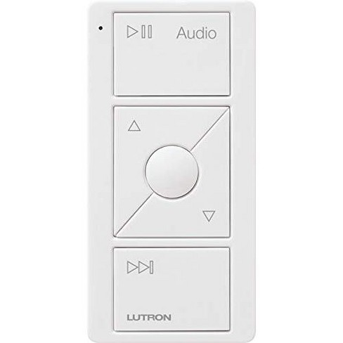 Lutron Caseta Wireless Pico Remote for Audio, Works with Sonos - image 1 of 4