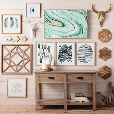 Green & Neutral Wall Dcor Collection : Target