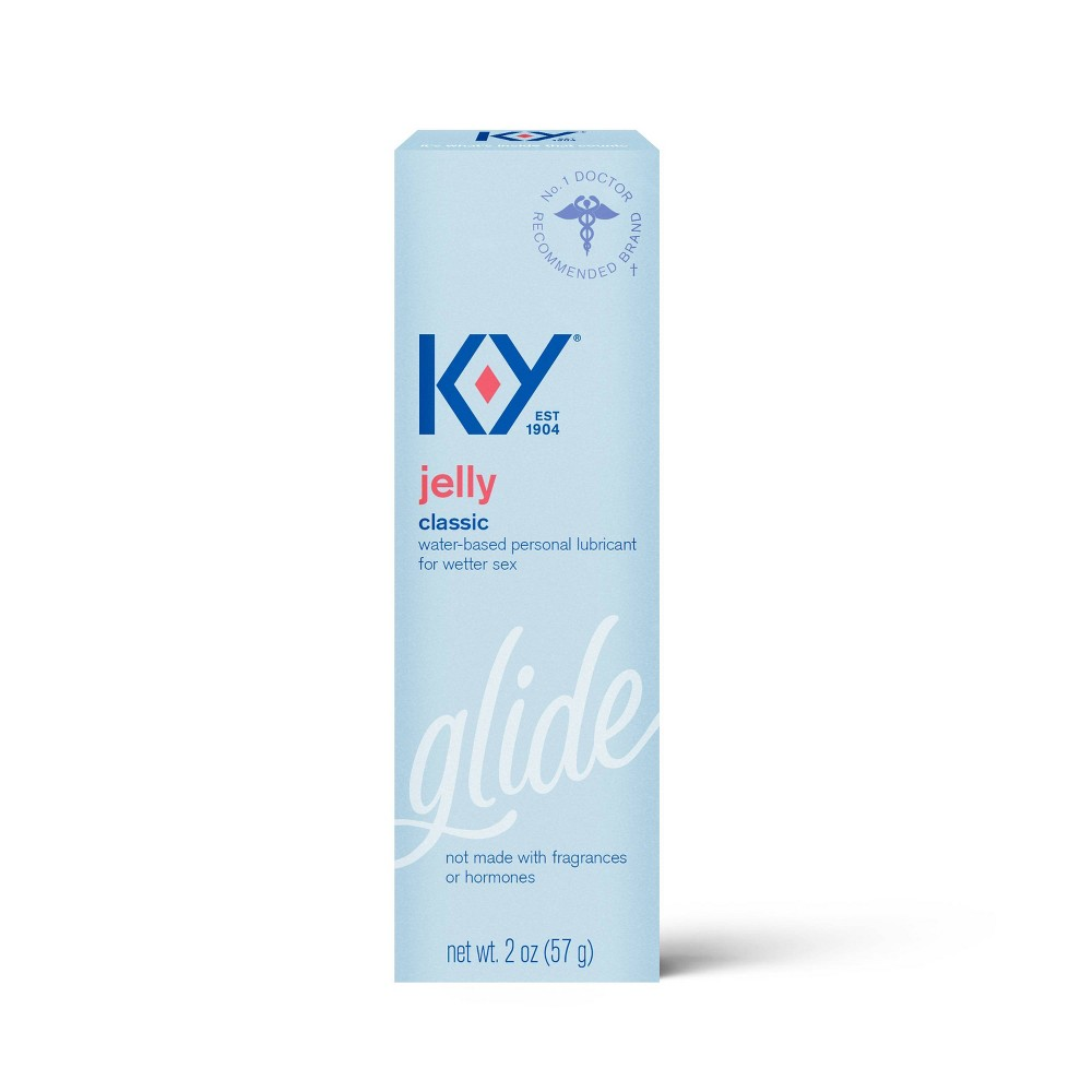 K Y Jelly No Fragrance Added Water Based Personal Lube 2oz