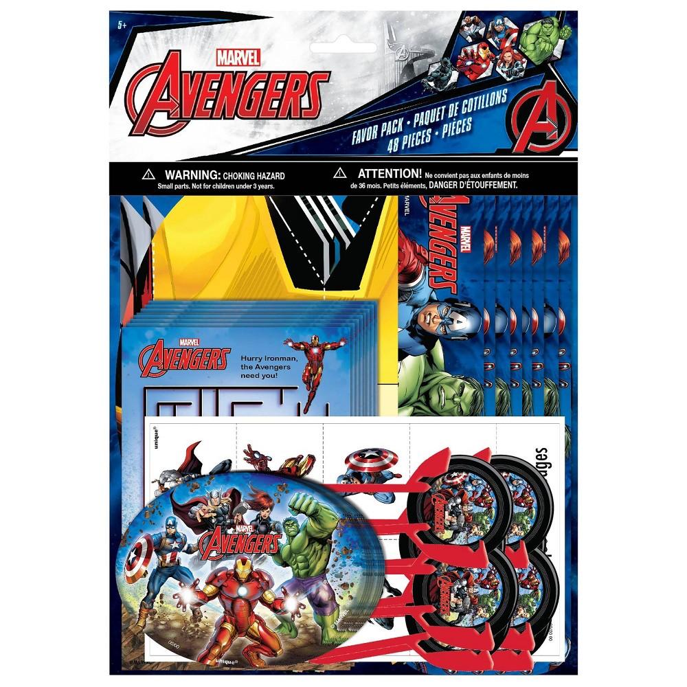 Image of Avengers 48ct Party Favor Pack - Unique Industries