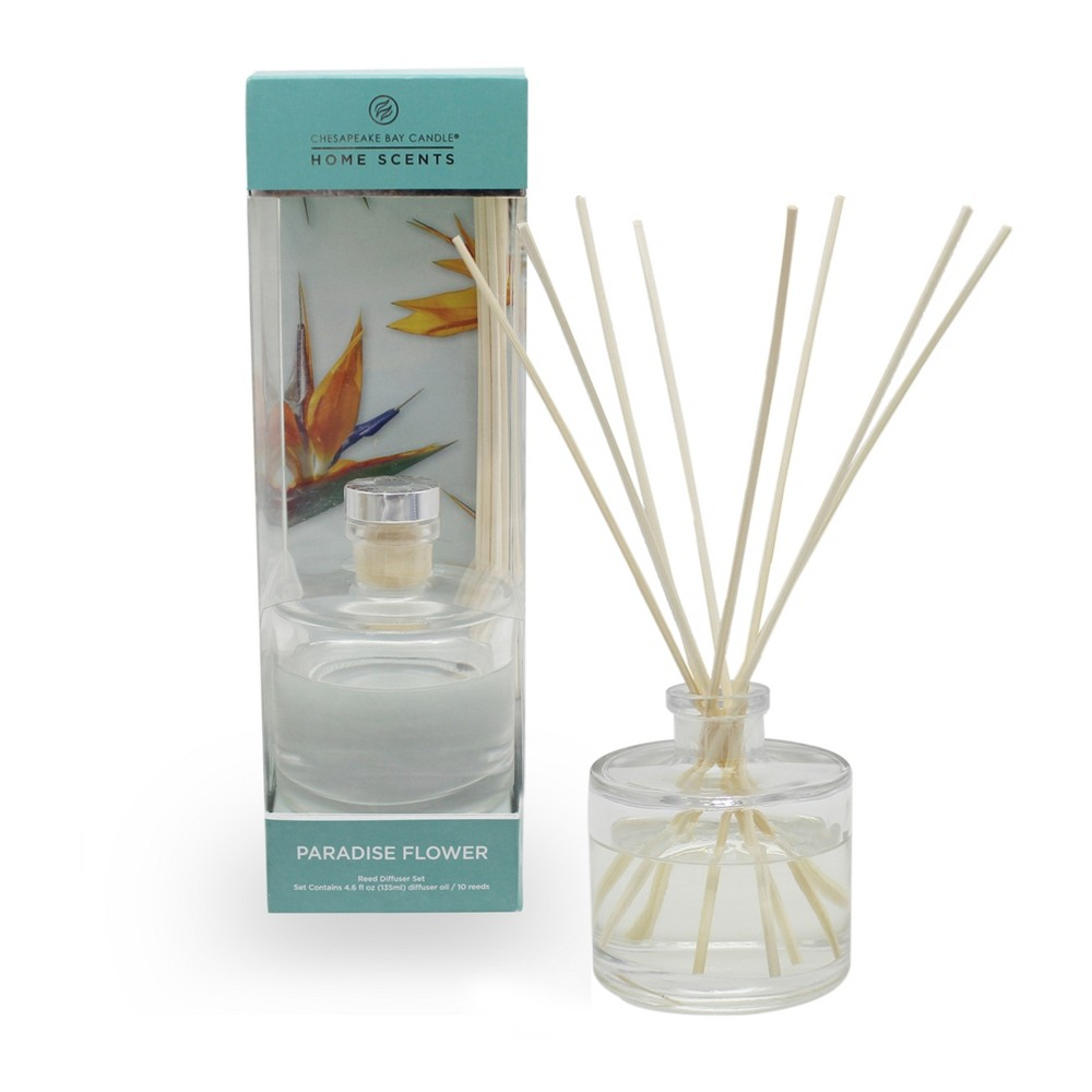 4.5oz Oil Diffuser Paradise Flower - Home Scents By Chesapeake Bay Candle, Green