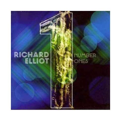 Richard (Sax) Elliot - Number Ones (CD) - image 1 of 1