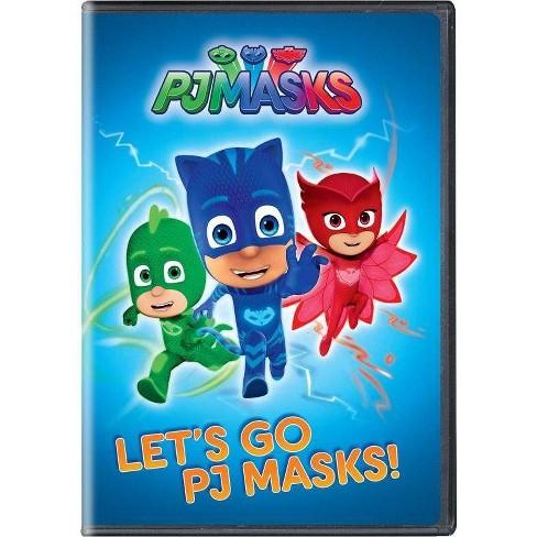 Pj Masks Let S Go Pj Masks Dvd Target