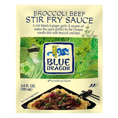 Blue Dragon Broccoli Beef Stir Fry Sauce 3.4 oz - image 1 of 1