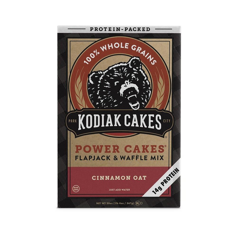 Kodiak Cakes Cinnamon Oat Flapjack & Waffle Mix - 20oz
