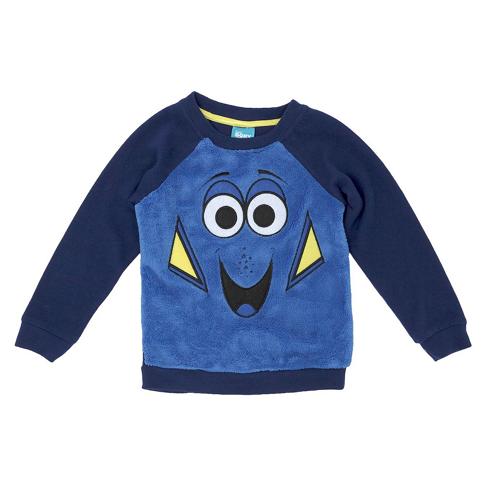 Toddler Girls' Finding Dory Sweatshirt Blue 4T