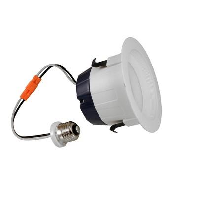 Sylvania LED Recessed 4-Inch 50W Equivalent 5000K Daylight Downlight Bulb Kit