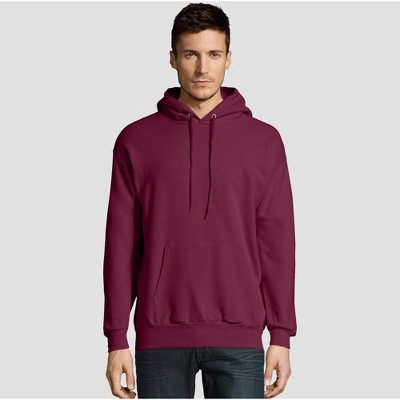 1 Orange Hanes Mens EcoSmart Hooded Sweatshirt Small 1 Maroon