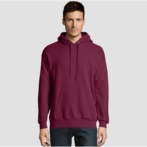Hanes Men's EcoSmart Fleece Pullover Hooded Sweatshirt - image 1 of 3
