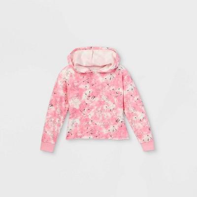 Girls' Pokemon Tie-Dye Hoodie - Pink