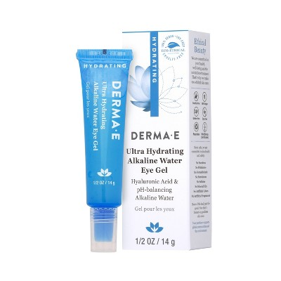 DERMA E Ultra Hydrating Alkaline Eye Gel - 0.5oz