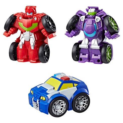 Playskool Heroes Transformers Rescue Bots Flip Racers Griffin Rock Racing Team - image 1 of 3