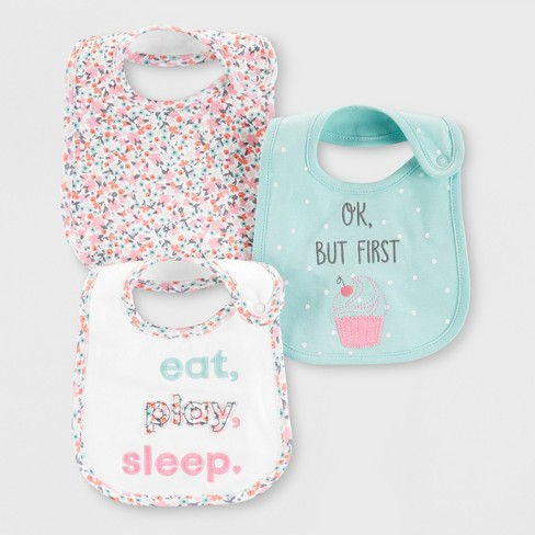 Baby 3pk Bibs - Just One You® made by carter's One Size - image 1 of 1