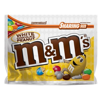 Chocolate Candies: M&M's White Chocolate Peanut