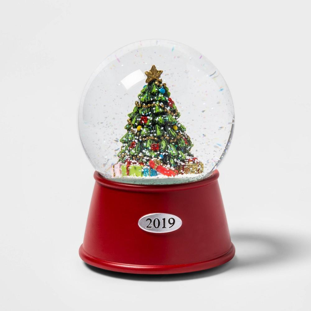 "Image of ""5.5"""" x 3.8"""" Christmas Tree Musical Snow Globe - Wondershop"""