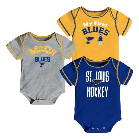 NHL St. Louis Blues Boys' Game Winner 3pk Body Suit Set - image 1 of 4