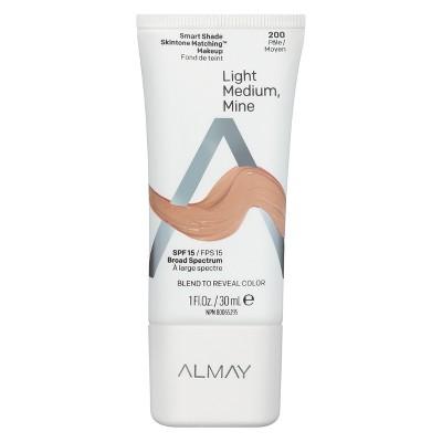Almay Smart Shade Skintone Matching Makeup with SPF 15 - 1 fl oz